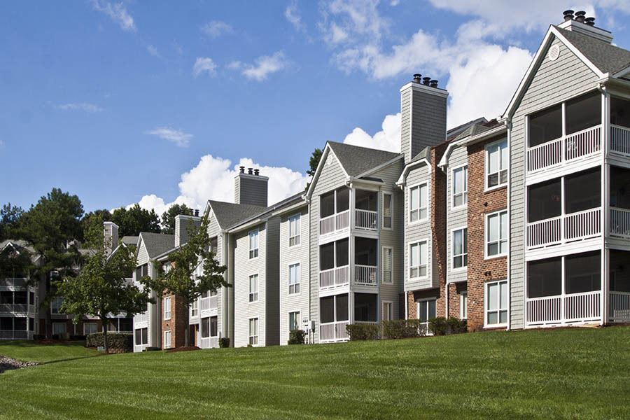 Exterior at apartments in Charlotte