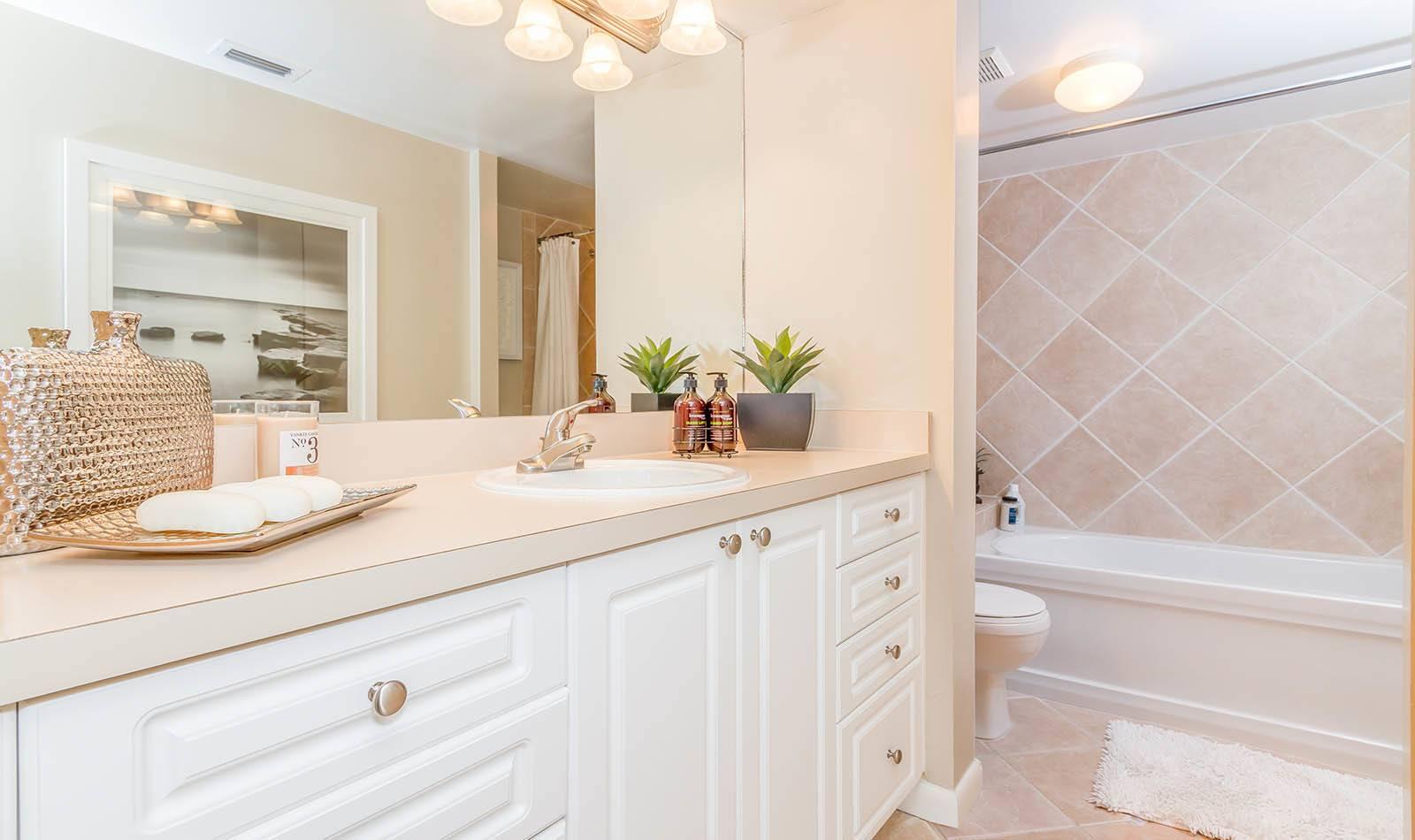 Bathroom at The Fountains in Palm Beach, FL