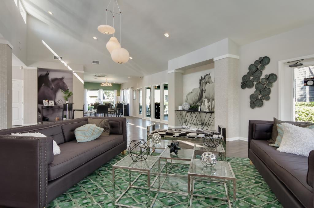 Larger floor plan at The Landings at Steeplechase in Houston, TX