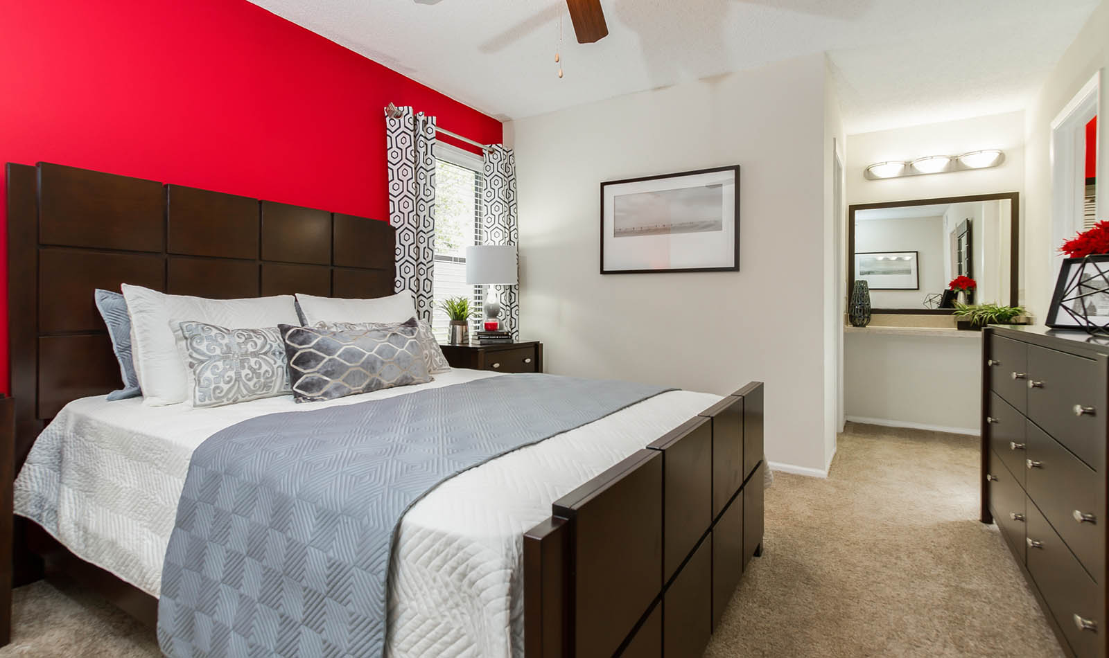 Spacious Master Bedroom With Walk In Closet at The Reserve at Mandarin in Jacksonville, FL