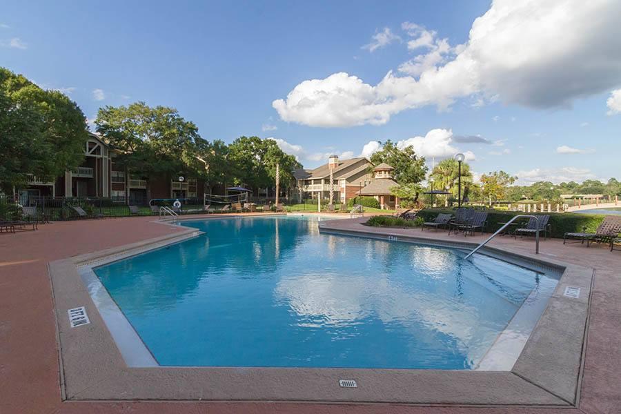 Pool at apartments in Orange Park