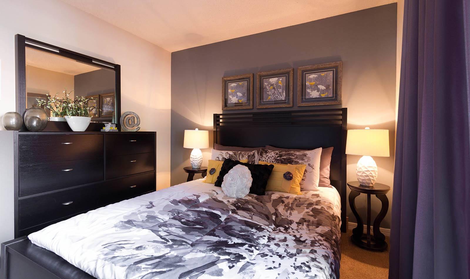 Bedroom at apartments in Orange Park, FL