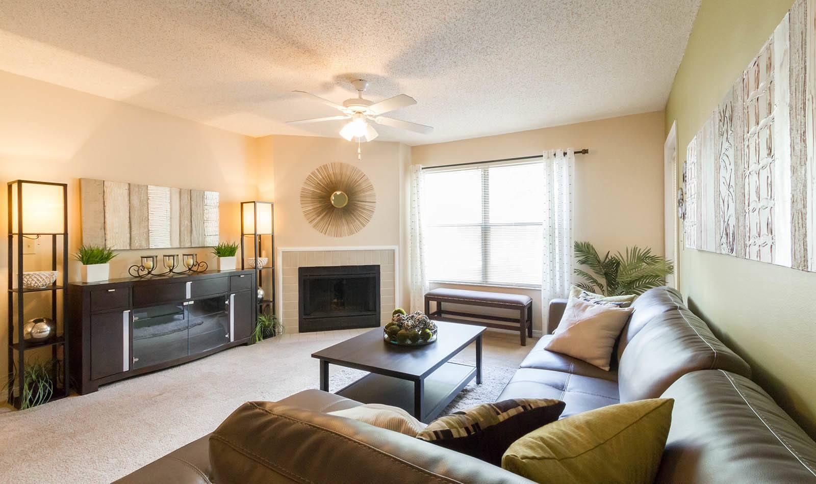 Living room at Vista Grande in Orange Park, FL