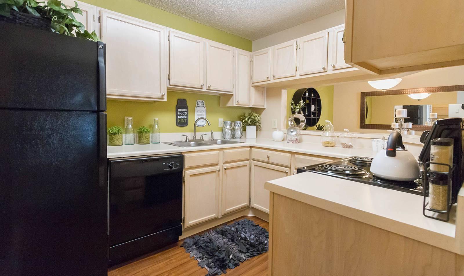 Kitchen at Vista Grande in Orange Park, FL