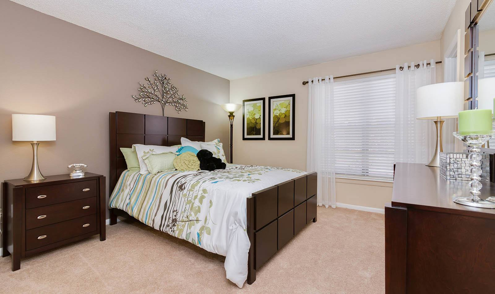 Bedroom at Waterstone at Carrollwood Apts in Tampa, FL