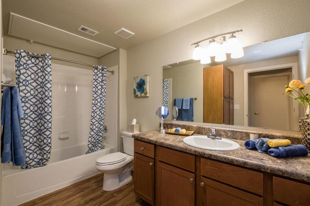 Master Bathroom At Verandas at Alamo Ranch