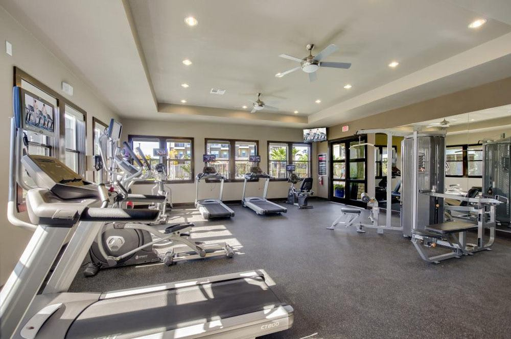 Fitness Center At Verandas at Alamo Ranch