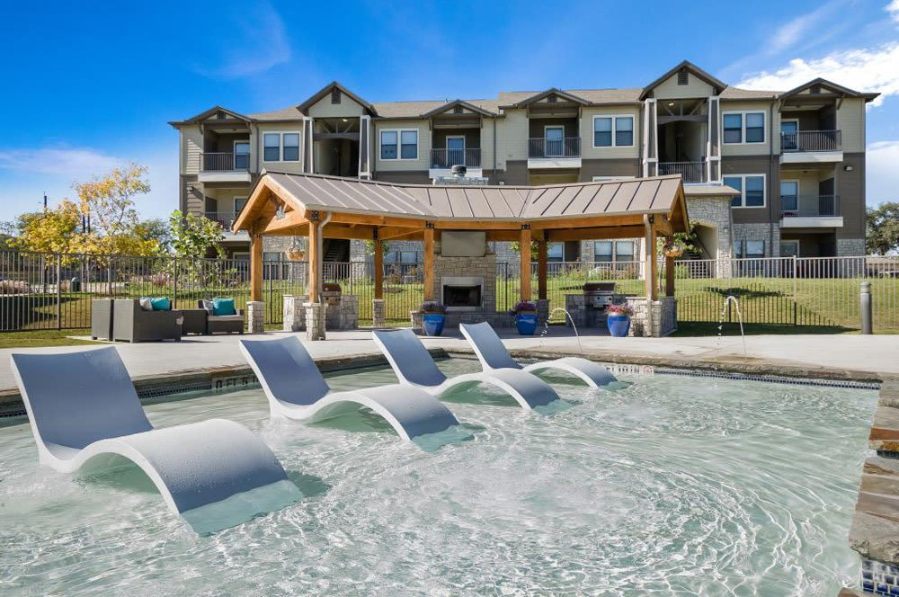 Resort Style Pool At Verandas at Alamo Ranch