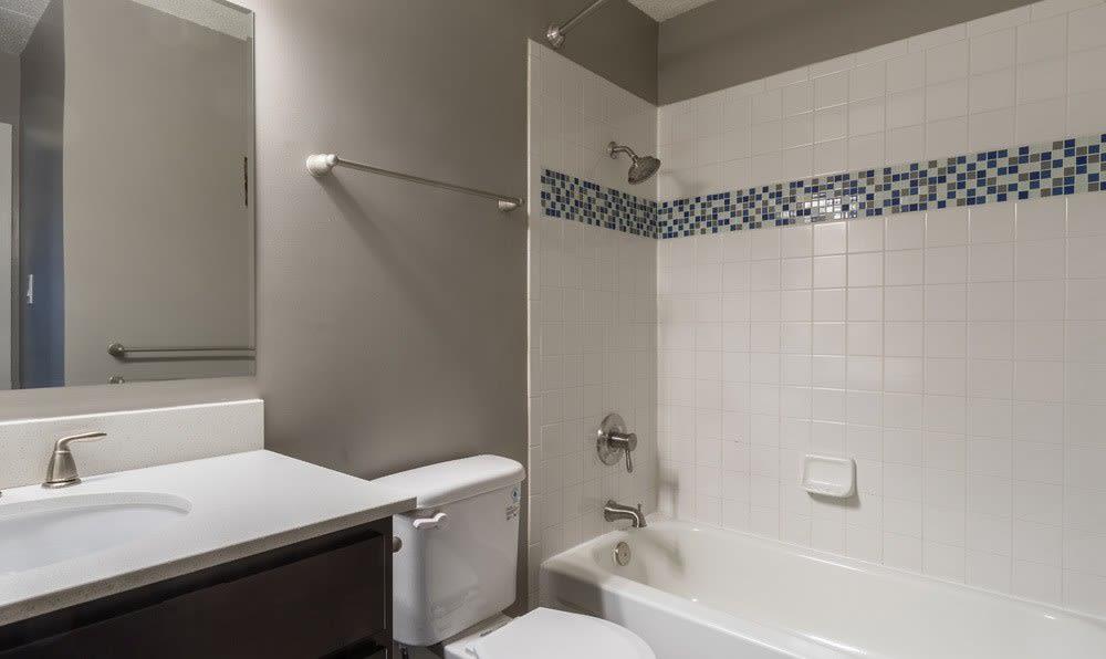 Bathroom at Woodland Ridge Apartments
