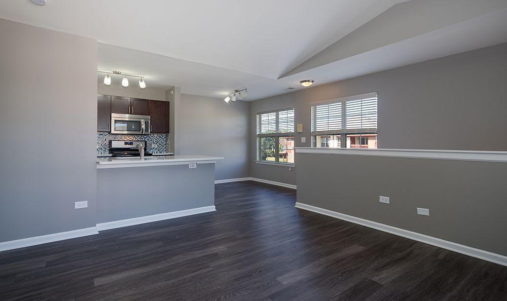 Beautiful Hardwood Floors At Apartment Rentals In Aurora Illinois