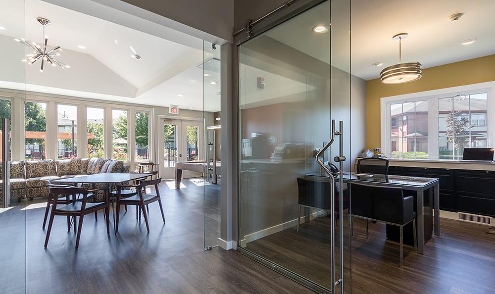 Clubhouse At Apartment Rentals In Aurora Illinois