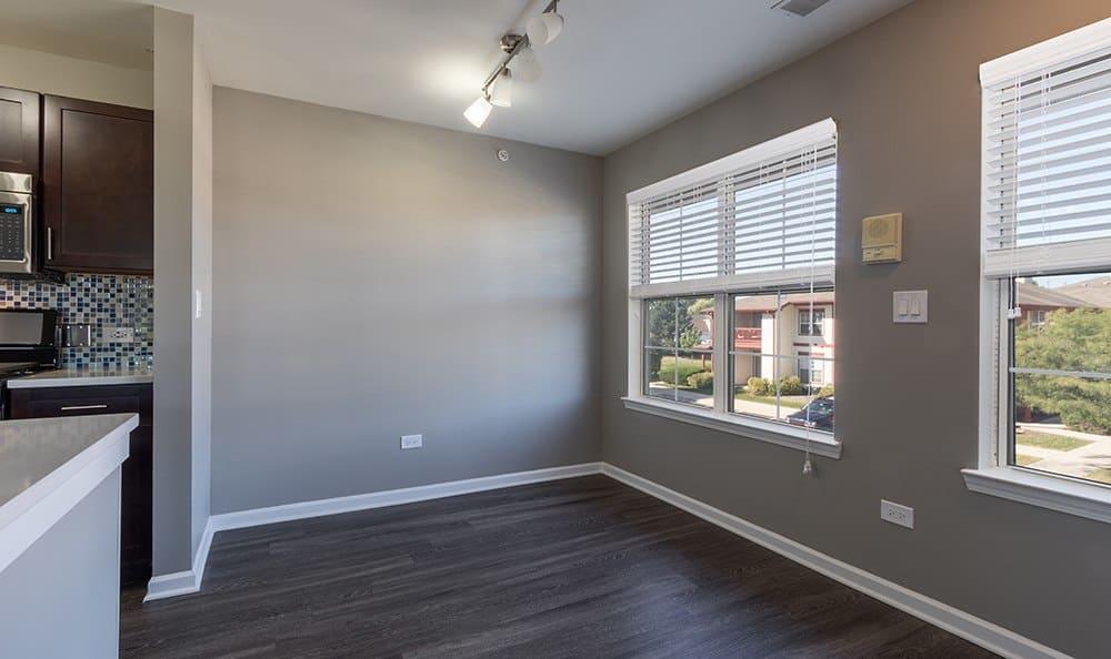 Dining Room At Apartment Rentals In Aurora Illinois