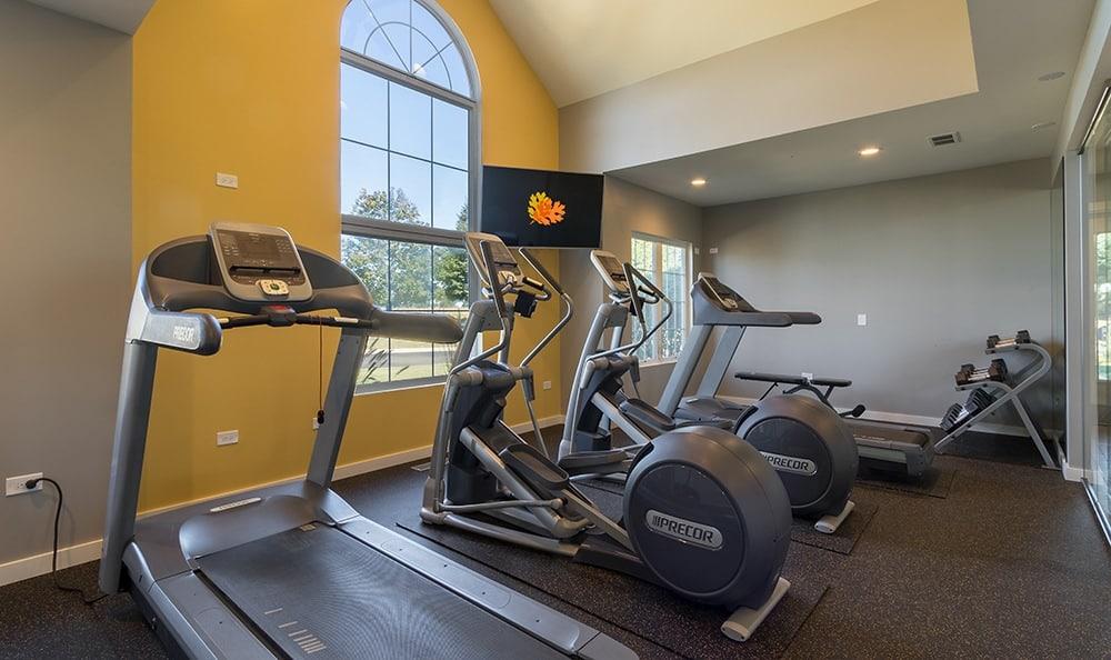 Exercise At Apartment Rentals In Aurora Illinois