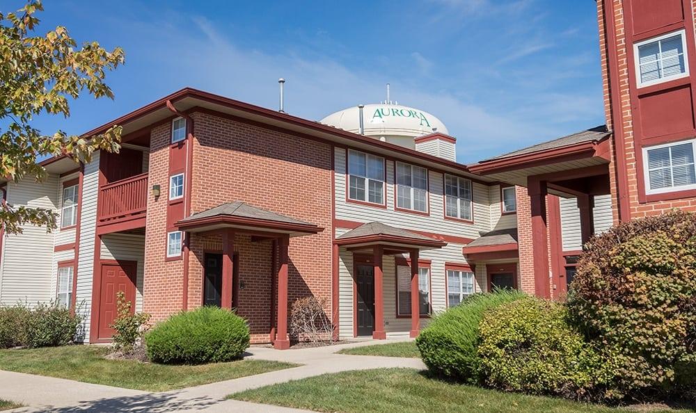 Front Of Apartment Rentals In Aurora Illinois