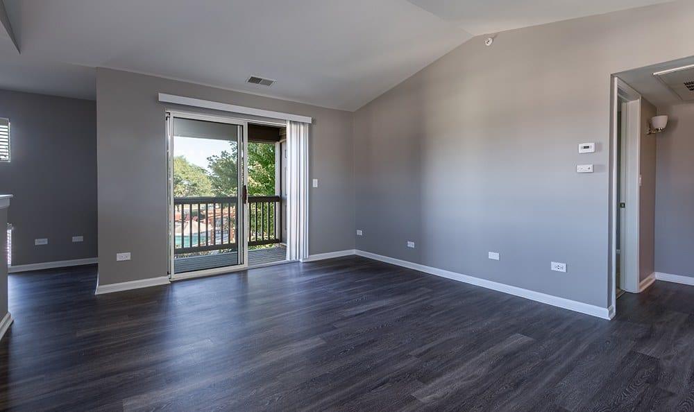 Living Room At Apartment Rentals In Aurora Illinois
