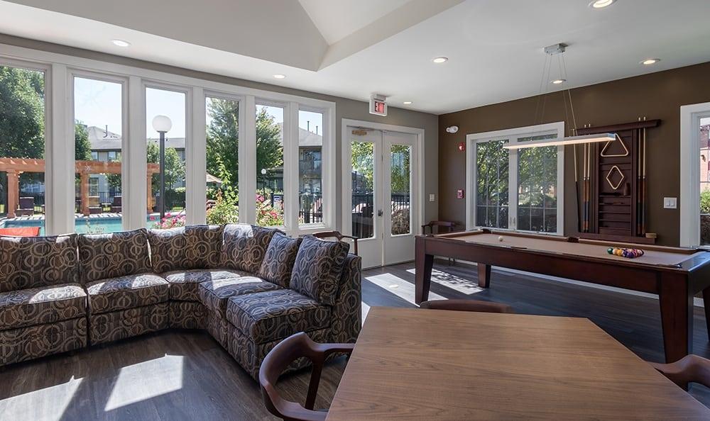 Luxury Clubhouse At Apartment Rentals In Aurora Illinois