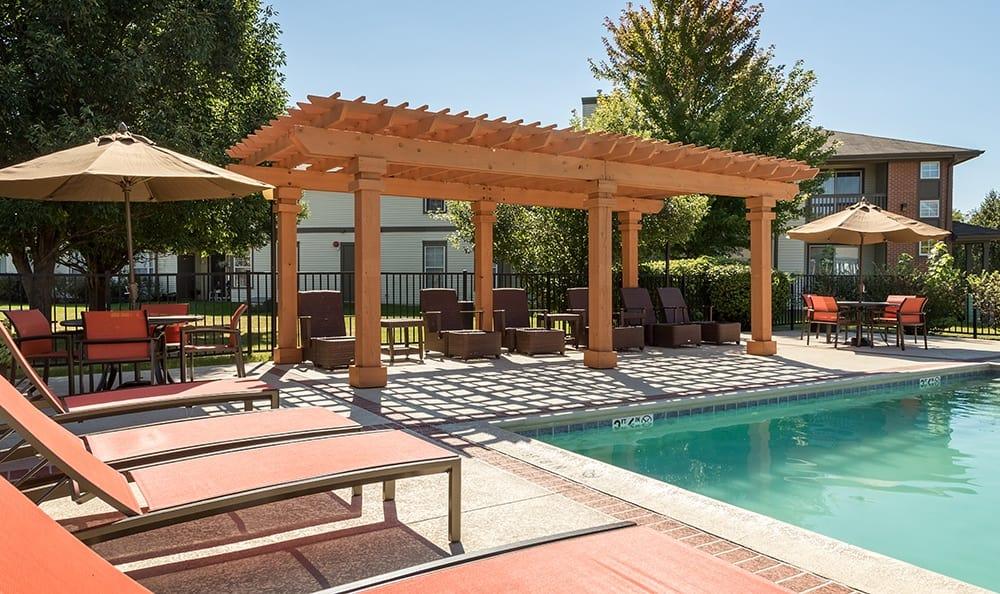 Pool At Apartment Rentals In Aurora Illinois