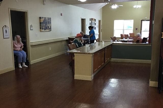 Regent Court Senior Living offers care and activities for residents.