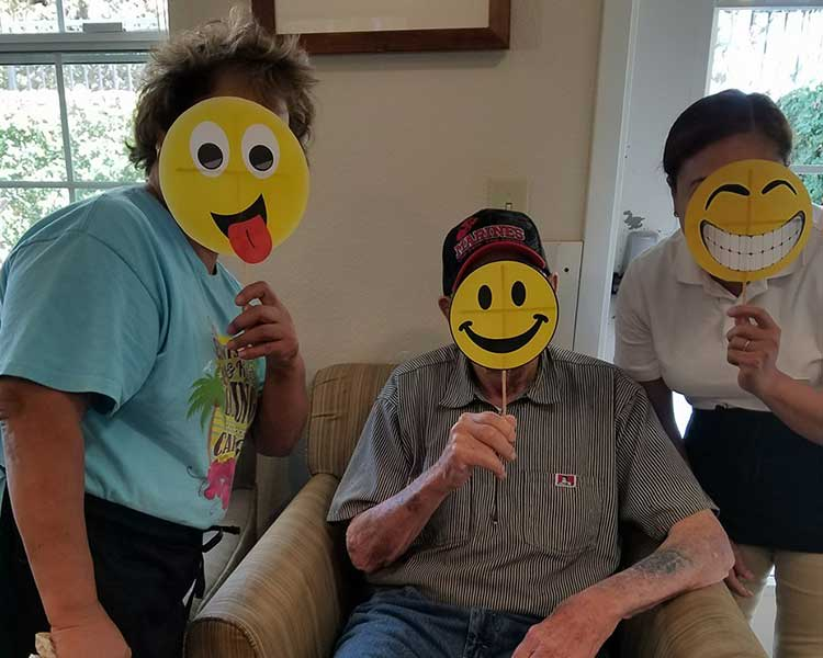 We are silly at Sun Oak Senior Living
