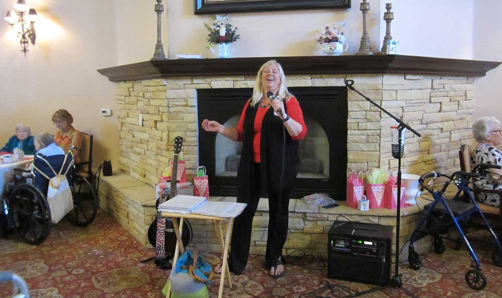 Sing your heart out at Pennington Gardens