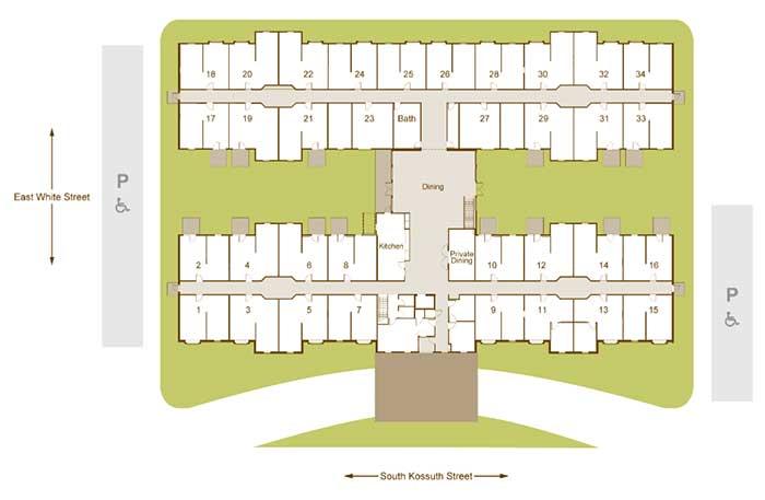 Garden Place Millstadt community plan