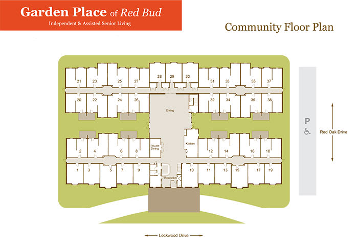 Garden Place Red Bud community plan