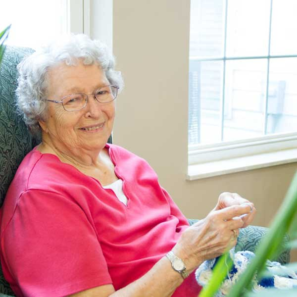 Residents at Garden Place Red Bud
