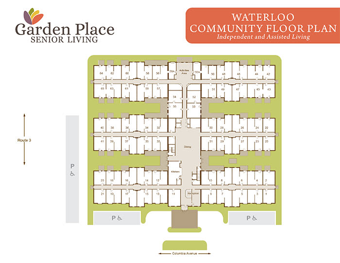Garden Place Waterloo community plan