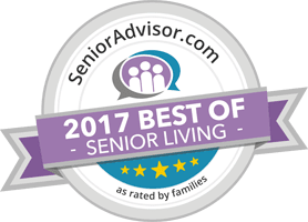 Wyndemere Assisted Living got 2017 best of senior living award