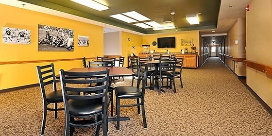 Tables at Carolina Assisted Living in Appleton