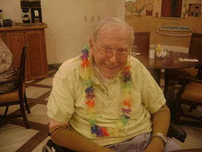 Luau at Desert Peaks Assisted Living and Memory Care in Las Cruces