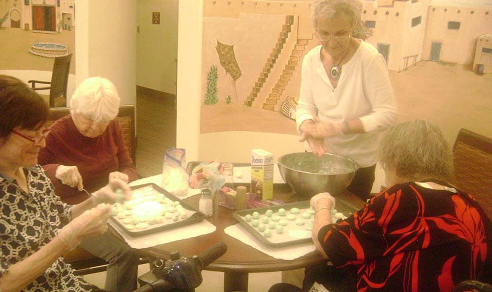 Games at senior living in Las Cruces