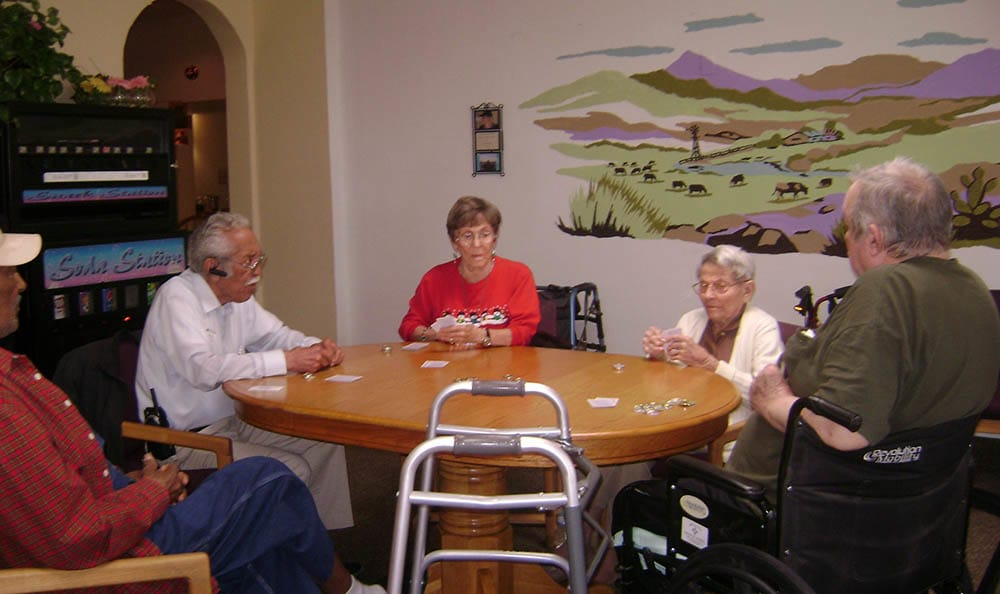 Dominoes at Desert Peaks Assisted Living and Memory Care in NM