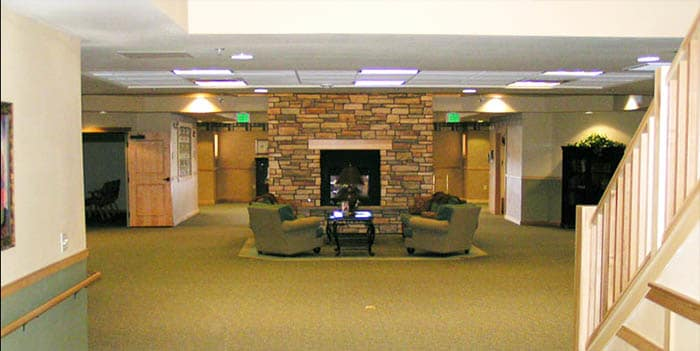 Lobby at our senior living community