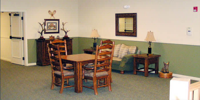 Dining room at our senior living community