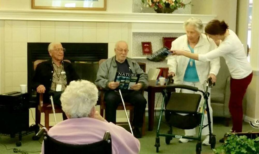 Resident group at Sundial Assisted Living