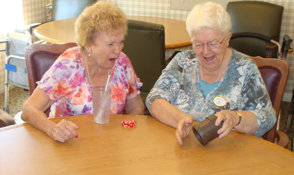 Two women at Sundial Assisted Living