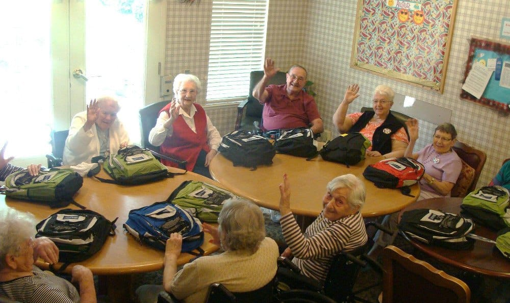 Elders at our senior living community