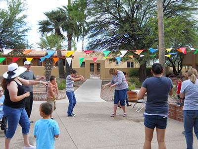Health and wellness activities at Woodland Palms Memory Care