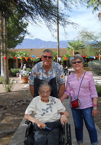 Residents at Woodland Palms Assisted Living & Memory Care