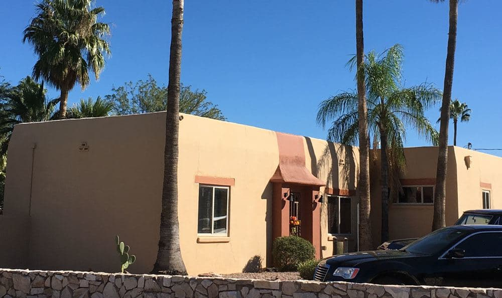 Building at our senior living community