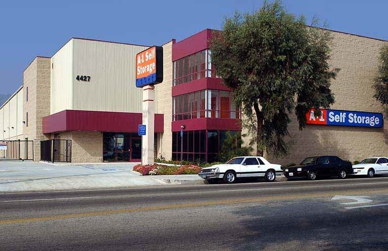 A-1 Self Storage facility located on Glendale.