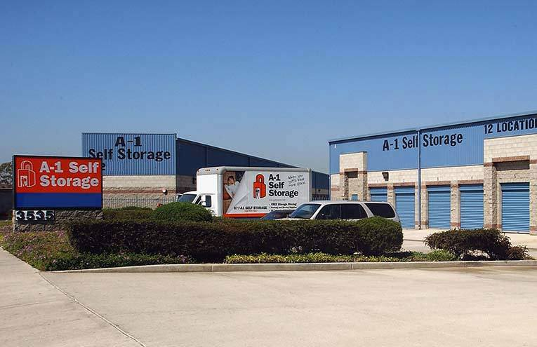A-1 Self Storage located on Anaheim