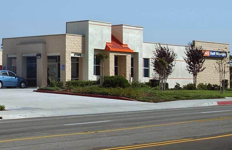 A-1 Self Storage facility located on Huntington Beach.