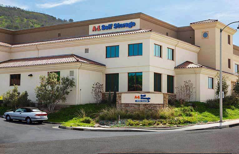 A-1 Self Storage located on San Juan Capistrano.