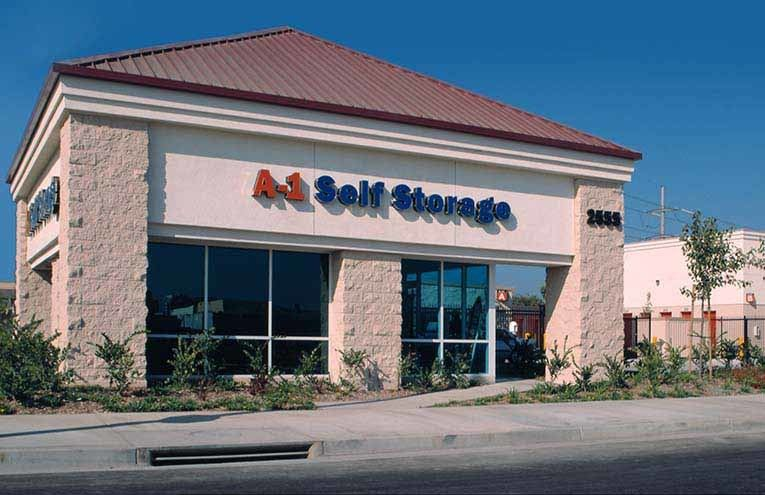 A-1 Self Storage in Santa Ana.