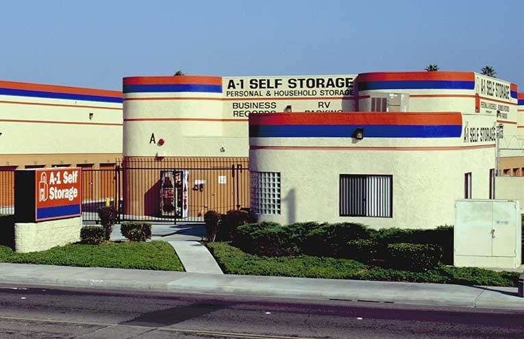 A-1 Self Storage located on El Cajon - W. Main St.