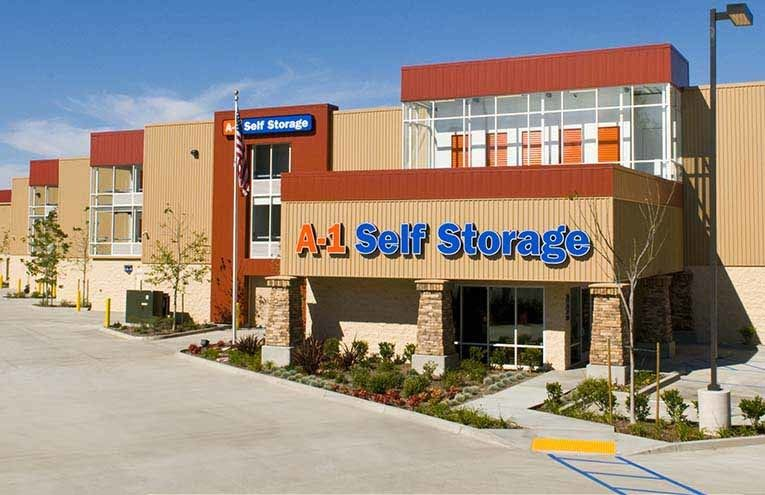 A-1 Self Storage facility located on San Diego - Mira Mesa.