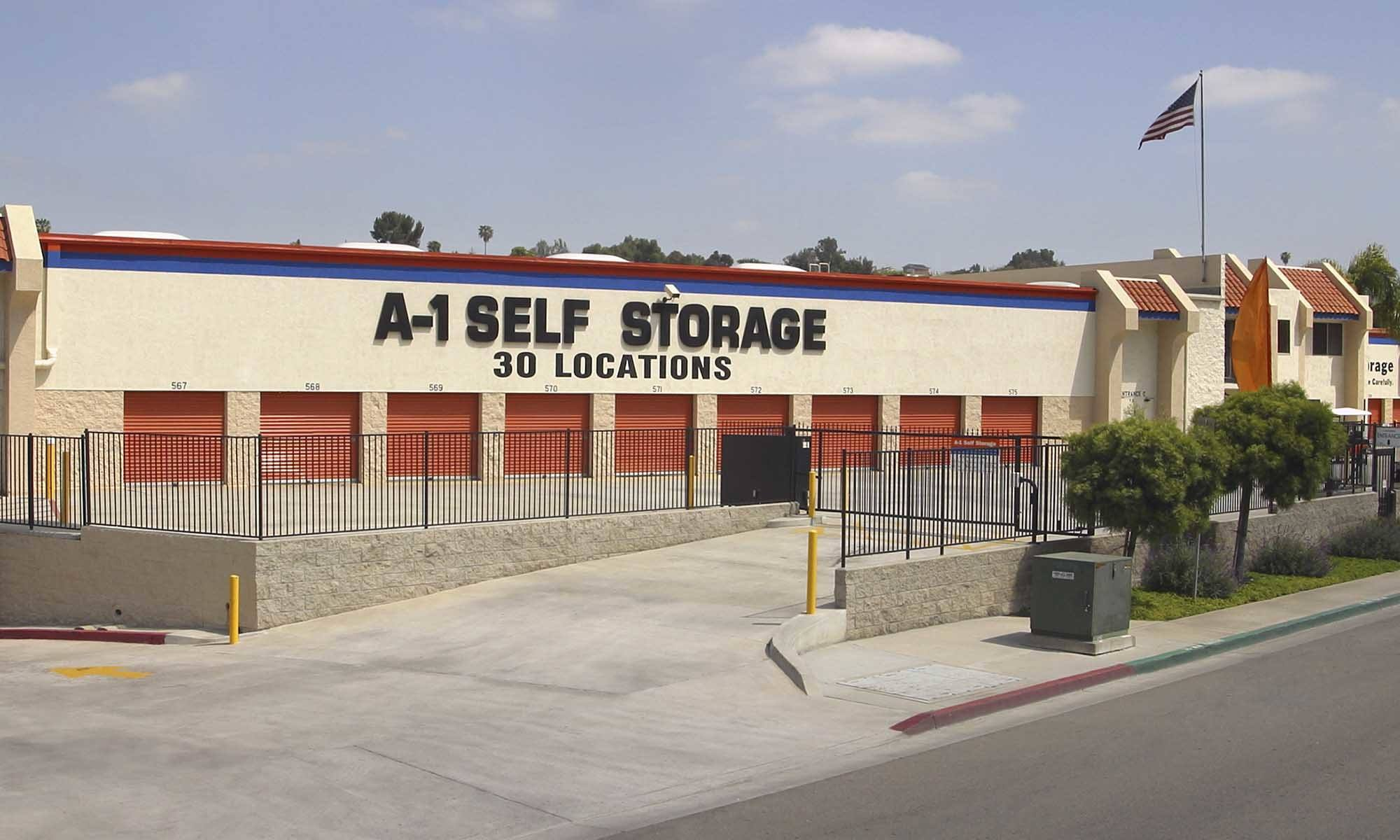 Self Storage San Diego California A 1 Self Storage
