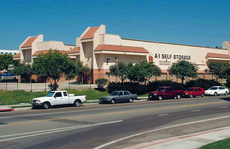 A-1 Self Storage facility located on San Diego - Fashion Valley.